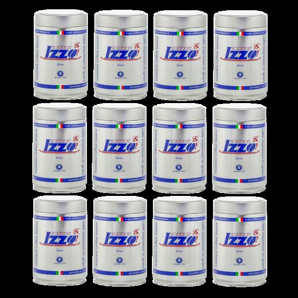 Izzo Caffé Sølv Espressokaffe 12 x 250g