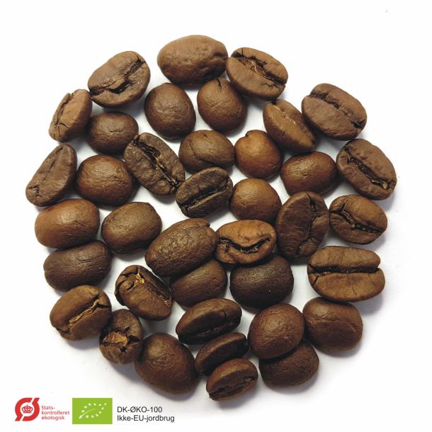 Espressokaffe Brasilien Cerrado Fazenda Nossa Senhora de Fatima Økologisk