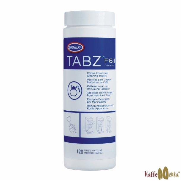 URNEX TABZ Filterkaffe Rensetabletter 4g 120 stk.