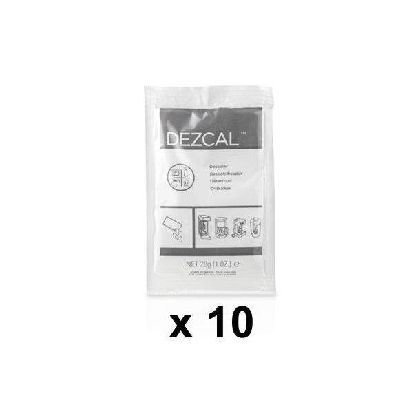 URNEX DEZCAL Afkalkningspulver á 28g 10 stk