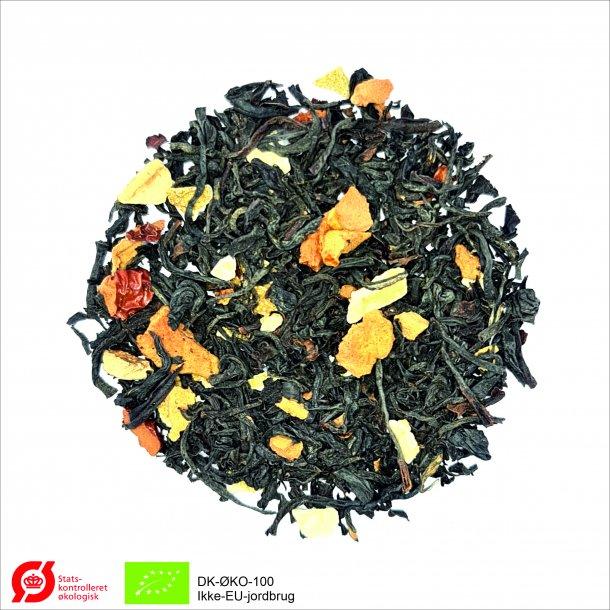 Orange Æble Te Økologisk - Sort aroma te