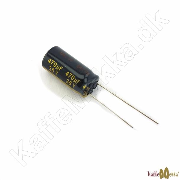 Panasonic Kondensator 470 μF 35VDC