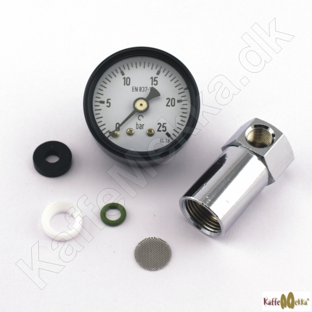 Manometer kit til filterholder