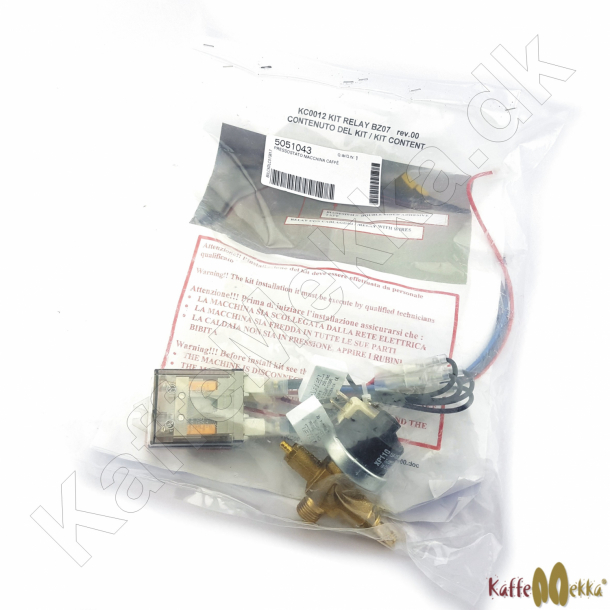 Bezzera BZ07 Pressostat Kit med Relæ (KC0012)