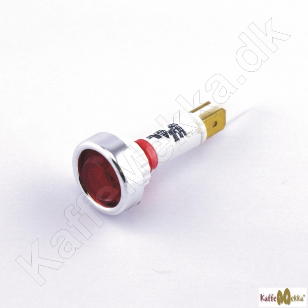 Izzo-MyWay/Vibiemme Lampe Rød 230V