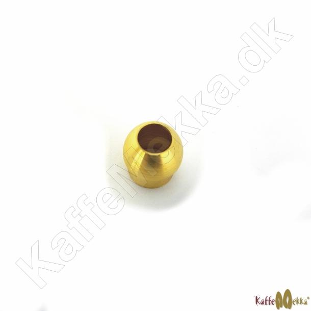 Messing Konisk Loddefitting Ø8mm Kobberrør - 1/4
