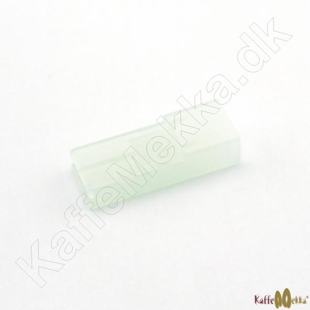 Kabelsko 6,3mm Hun Isoleringskappe