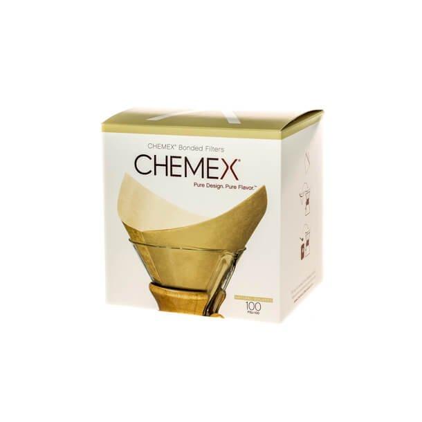 Chemex Brune Kaffefiltre 5-13 Kopper 100 stk (FSU-100)