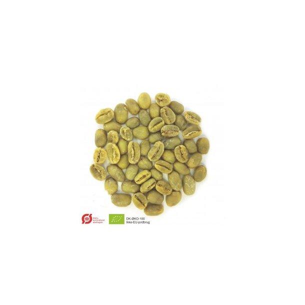 Etiopien Sidamo Økologisk, Grønne Bønner 1000 gram