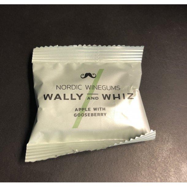 Wally And Whiz - Æble Med Stikkelsbær Vingummi - Flowpack