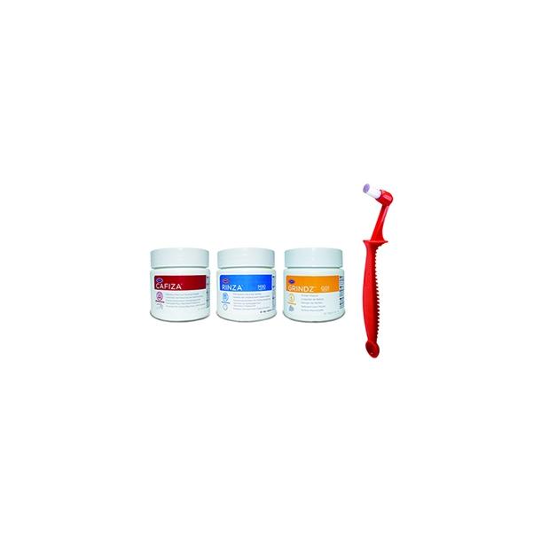 Urnex Startkit m/ Cafiza-Grindz-Rinza-Scoopz