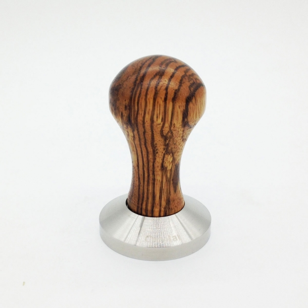 Cafelat Espresso Stamper, Zebra Wood 58,5 mm