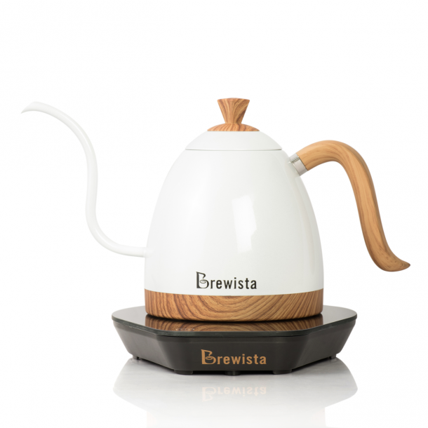 Brewista Artisan Digital Elkedel Pearl White 600ml