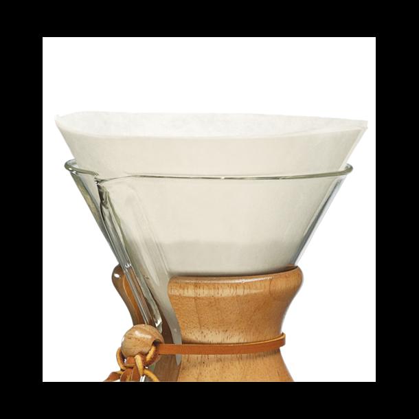 Chemex Kaffefiltre Runde 5-13 Kopper 100 stk (FC-100)