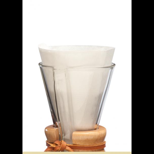 Chemex Kaffefiltre 3-kop 100 stk (FP-2)
