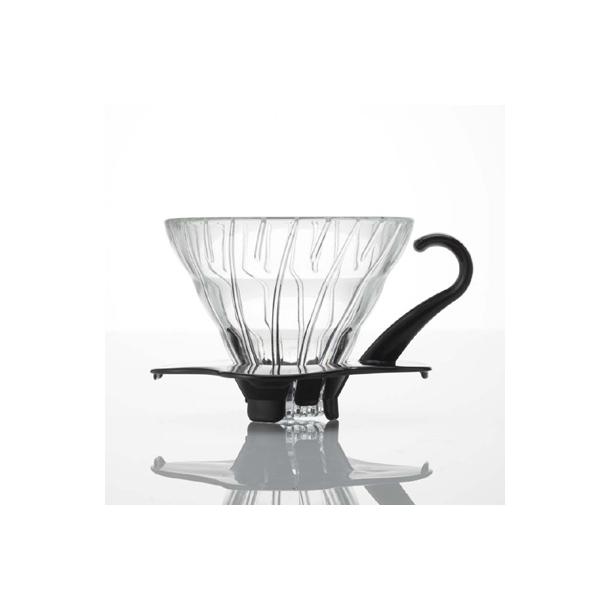 Hario V60 Filterholder Glas m/Sort Hank 1-kop VDG-01B