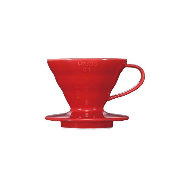Hario V60 Filterholder Rød Keramik 1-kop VDC-01R