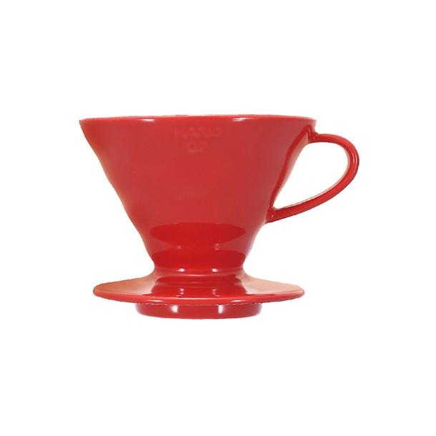 Hario V60 Filterholder Rød Keramik 2-kopper VDC-02R