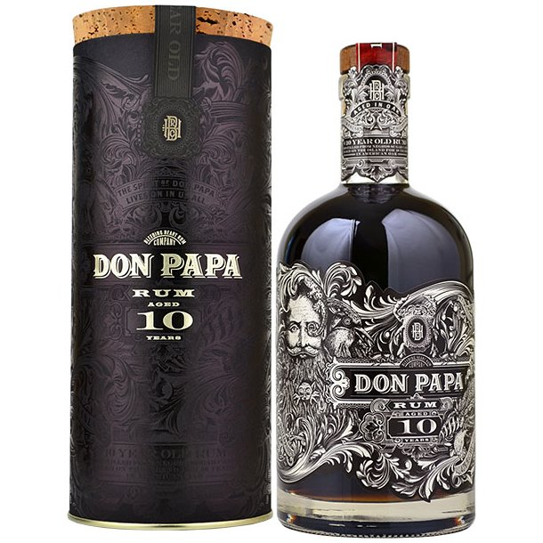 Don Papa 10YO Canister Cork Lid Limited Edition