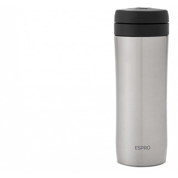 Espro Travel Stempelkande 350ml Børstet Stål