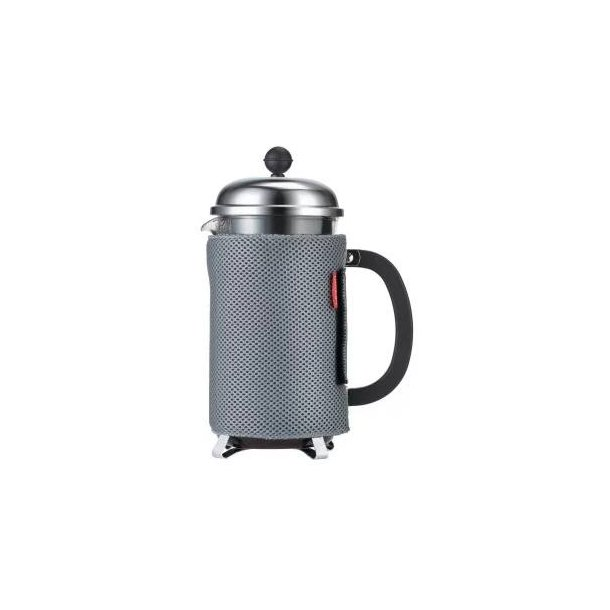 Bodum Nero Kaffefrakke 12 kop Grå