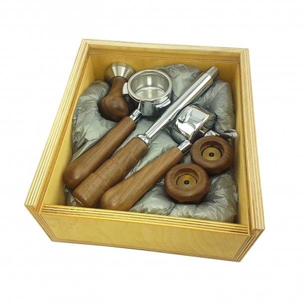 Izzo Alex Leva Barista Espressokit Wood