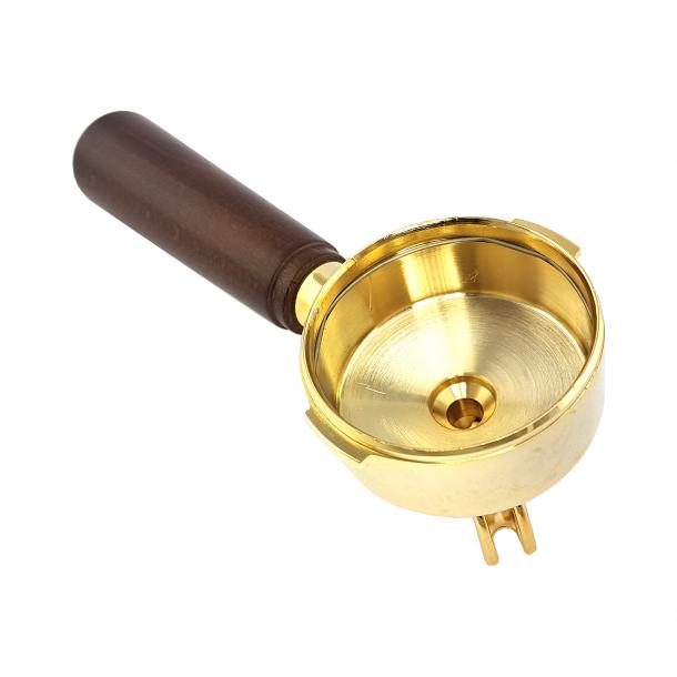 La Pavoni Rame-Gold Filterholder 51mm