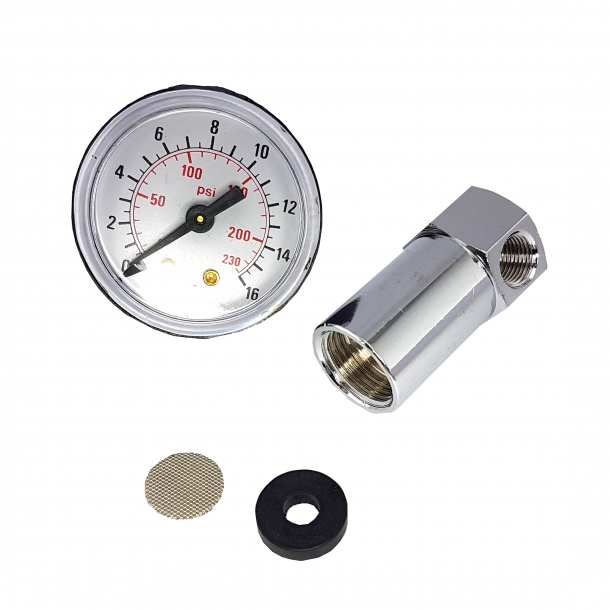 Manometer Kit til Filterholder 3/8