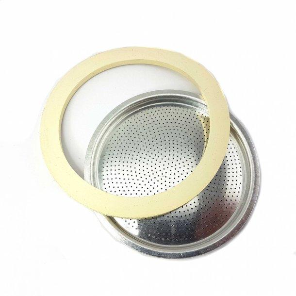 Bialetti Moka Pakningsæt Aluminium 18 kopper