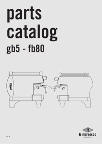 la marzocco gb5 - bf80 parts catalog