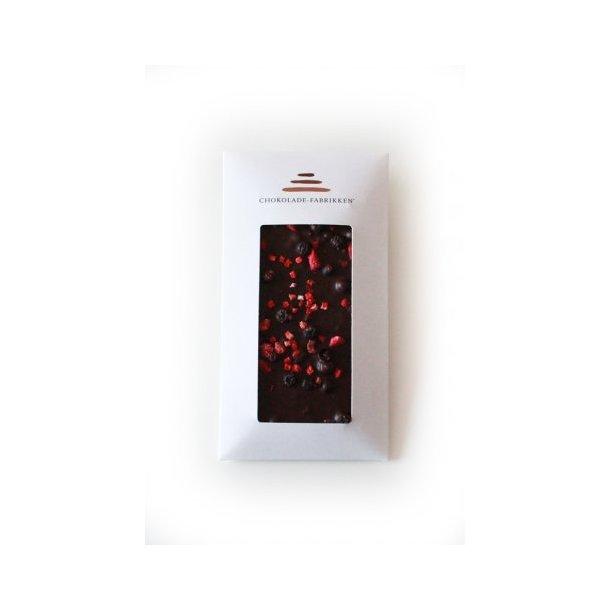 Chokolade-Fabrikken - Mørk Chokolade m/3 Slags Bær