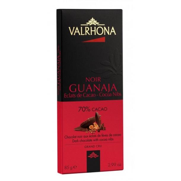Valrhona Noir Guanaja Grue 70% med kakaonibs