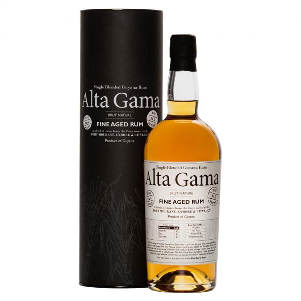 Alta Gama Brut Nature Guyana Rum