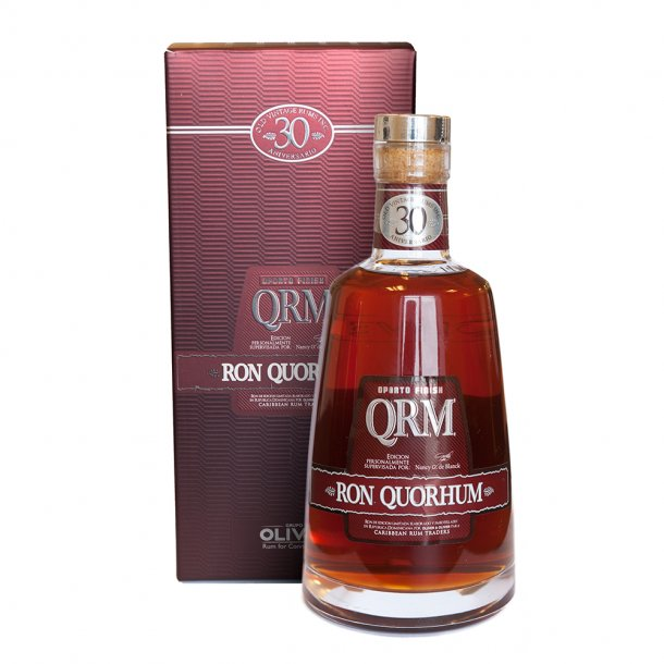 Ron Quorhum 30 Aniversario Oporto Finish 70cl