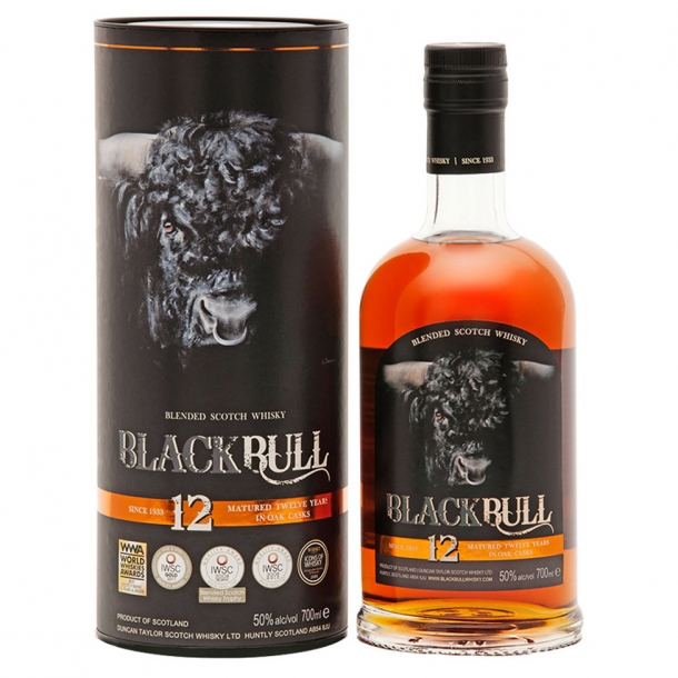 Black Bull 12 års whisky