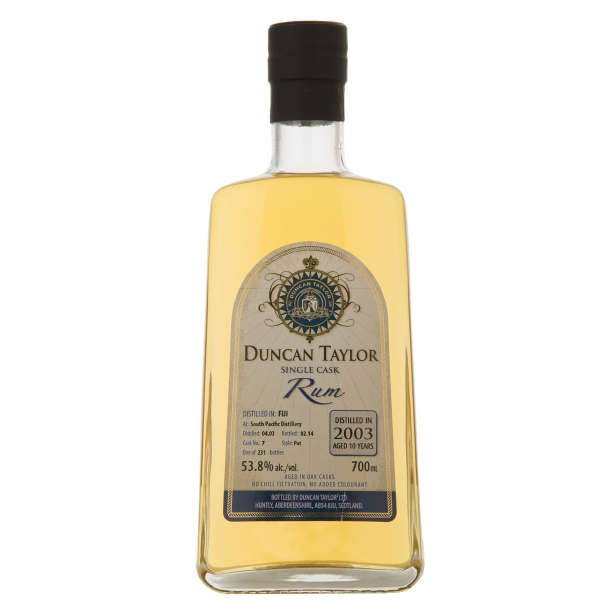 Duncan Taylor 2003 South Pacific Distillery 10 års rom