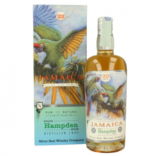 Silver Seal Single Cask Jamaica Rum Hampden 1993