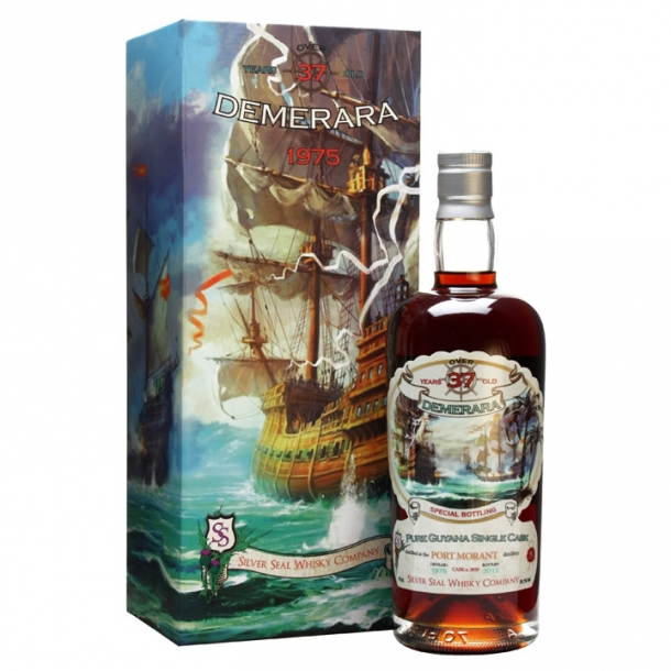Silver Seal Demarera Rum-Port Morant 1975