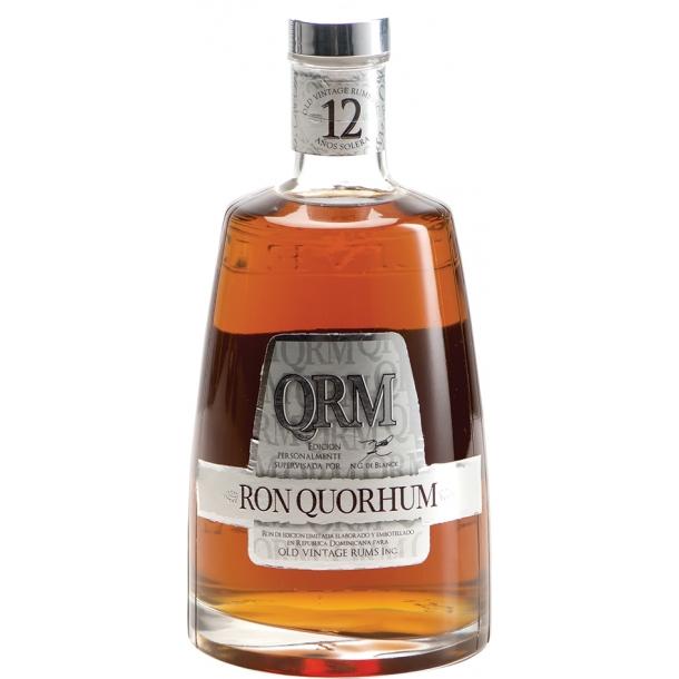 Quorhum 12 Años Solera Rom 40% 70cl