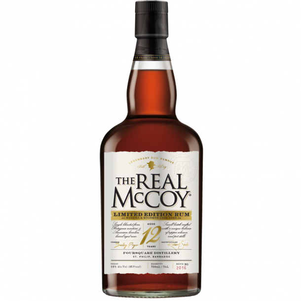 The Real McCoy 12 års Rom Limited Edition
