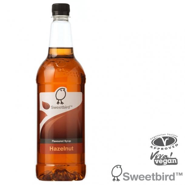 Sweetbird Sirup Hasselnød 1 liter