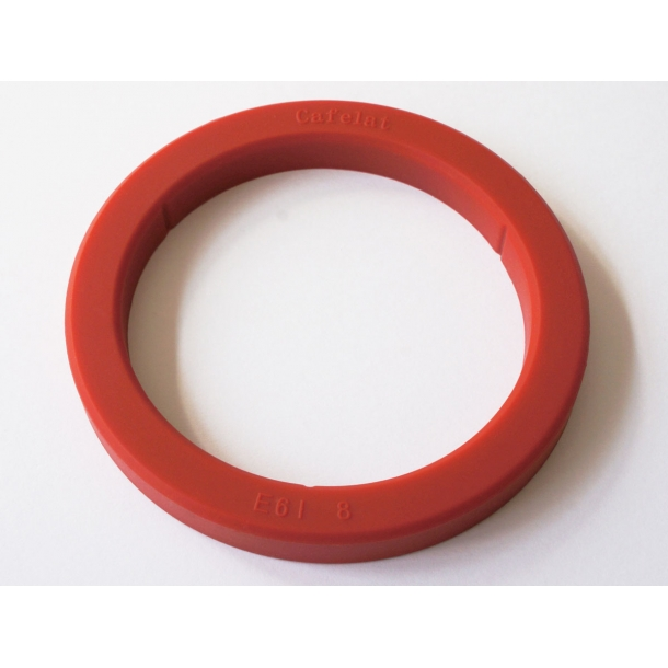 Cafelat Silikone Gruppepakning 8,0mm - E61 (Rød)