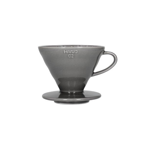 Hario V60 Filterholder Grå Keramik 2-kop VDC-02GR-UEX