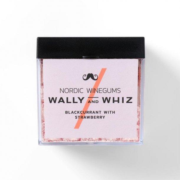 Wally And Whiz - Solbær Med Jordbær Vingummi - Æske