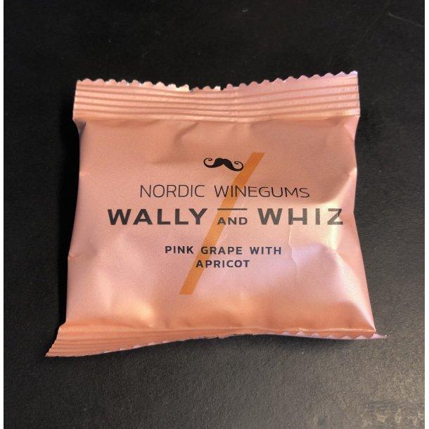 Wally And Whiz - Pink Grape Med Aprikos Vingummi - Flowpack